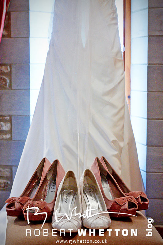 Shoes and Dress - Dorset Wedding Photographer Robert Whetton