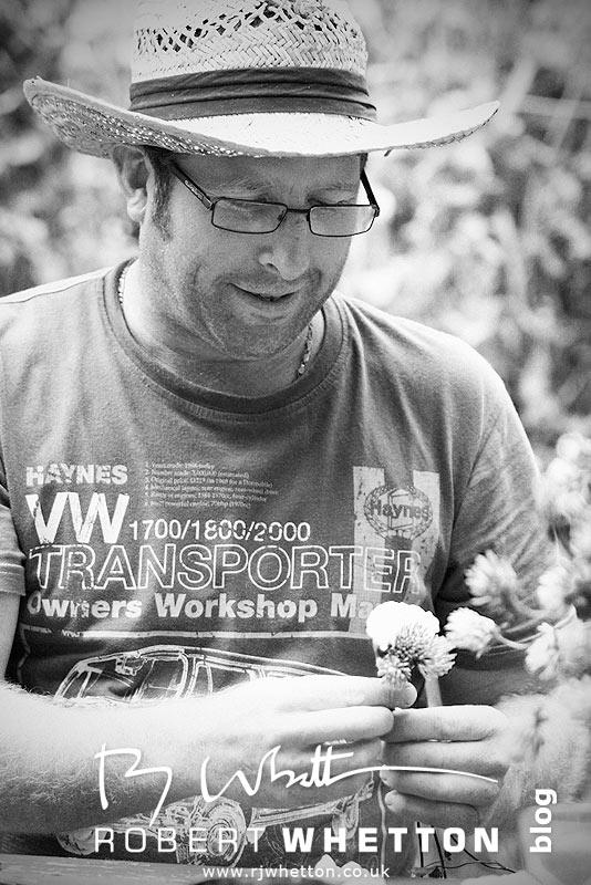 Neil making button holes - Dorset Wedding Photographer Robert Whetton