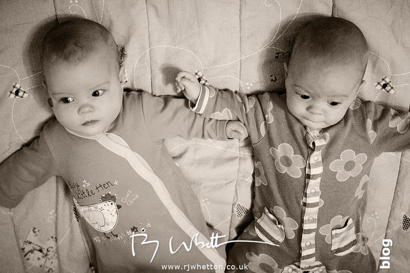 Harper and Scout laying together -   Baby Portraits - Professional Portraits Dorset