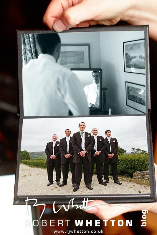 Honeymoon Album Pages 2+3 - Dorset Wedding Photographer Robert Whetton