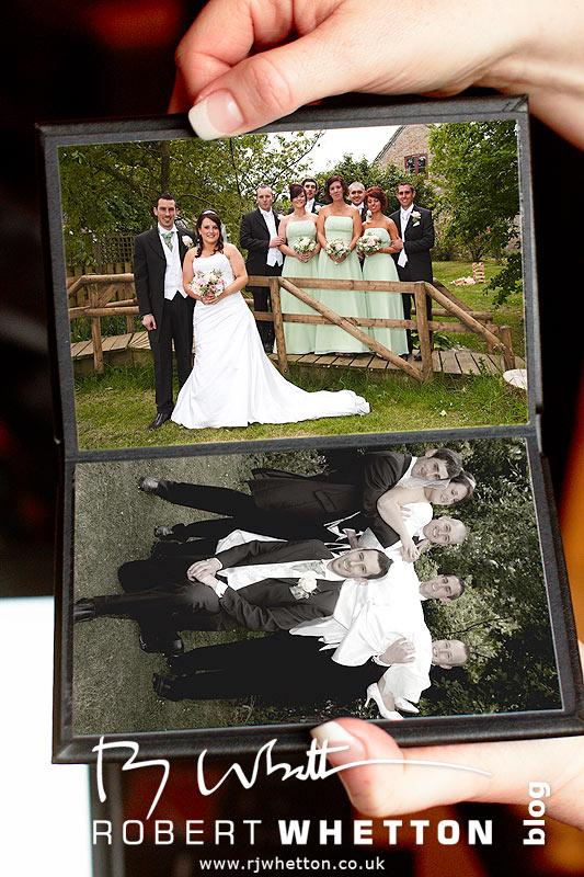 Honeymoon Album Pages 4+5 - Dorset Wedding Photographer Robert Whetton