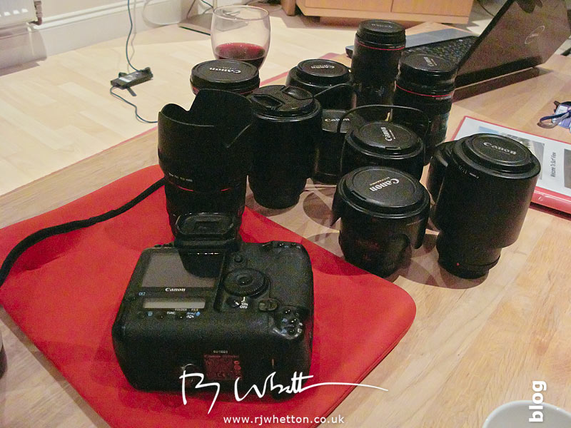 Canon 1Ds Mark 3 and selection of lenses