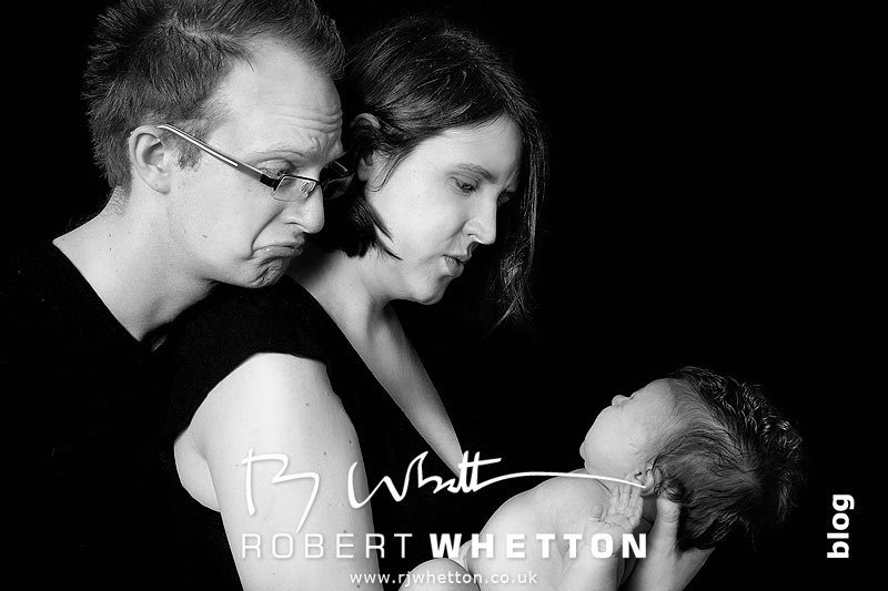 Baby Portrait Session with Dorset Portrait Photographer Robert Whetton
