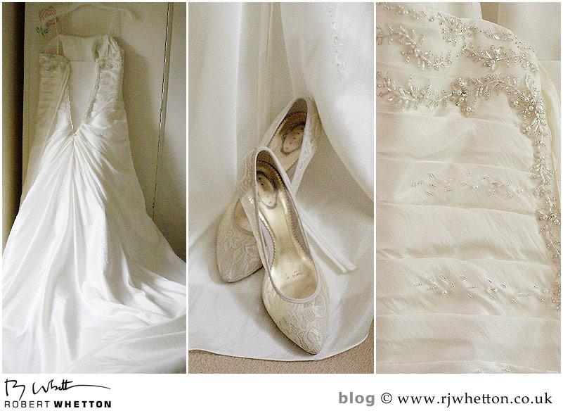 Wedding dress - Dorset Wedding Photographer Robert Whetton