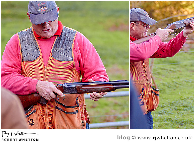 Challenge Leisure - Ralph gives gun safety talk. Photography by Robert Whetton Dorset Events Photographer