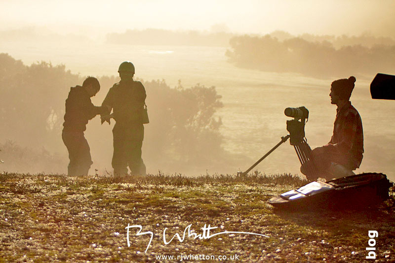 Loan soldier footage - Production Photography Dorset
