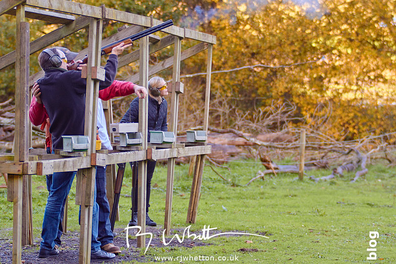 Challenge Leisure - Ralph shows Rocktime staff how to shoot. Photography by Robert Whetton Dorset Events Photographer