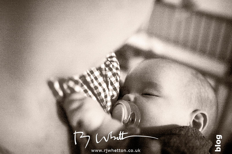 Harper sleeping in mums arms - Baby Portraits - Professional Portraits Dorset
