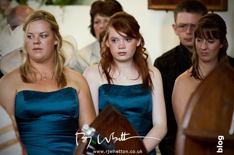 North Devon Wedding with Matt Fryer - Emotional Bridesmaids