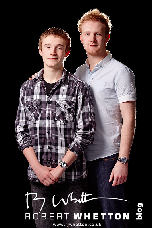 Pete and Mike - Portrait Photograph by Robert Whetton Dorset Photographer