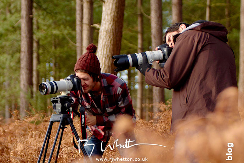 Film crew - Production Photography Dorset