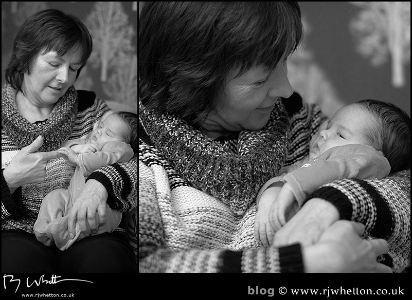 New Born Baby Portraiture by Dorset Portrait Photographer Robert Whetton
