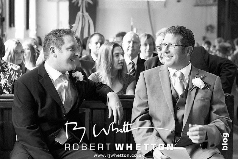 Waiting for the Bride - Dorset Wedding Photographer Robert Whetton