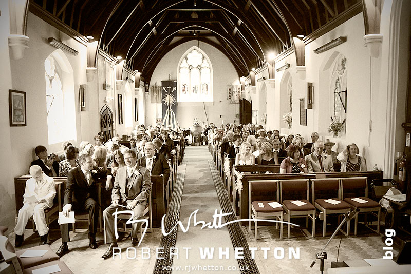 The Congregation - Dorset Wedding Photographer Robert Whetton