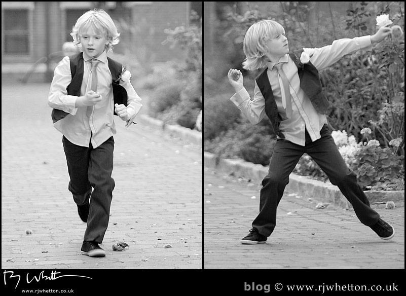 Boys will be boys! - Professional Wedding Photography Dorset
