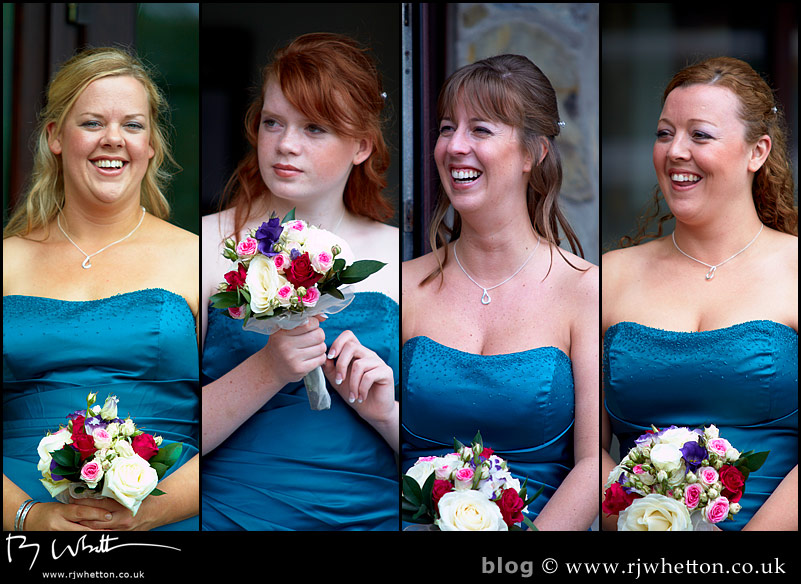 North Devon Wedding with Matt Fryer - Bridesmaids