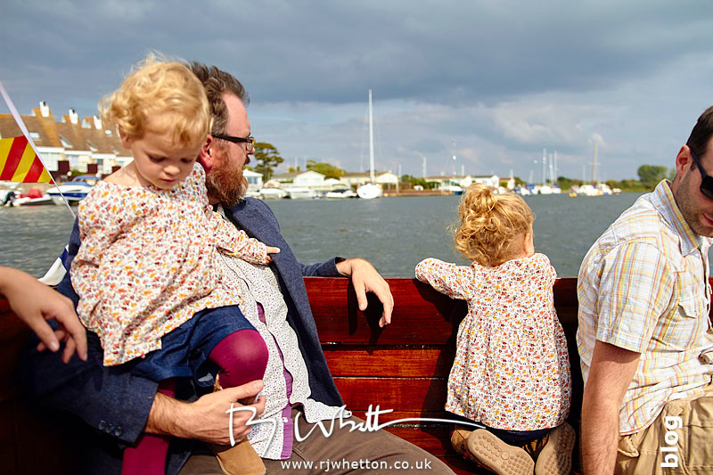 Heading out of Christchurch harbour - Portrait Photography Dorset