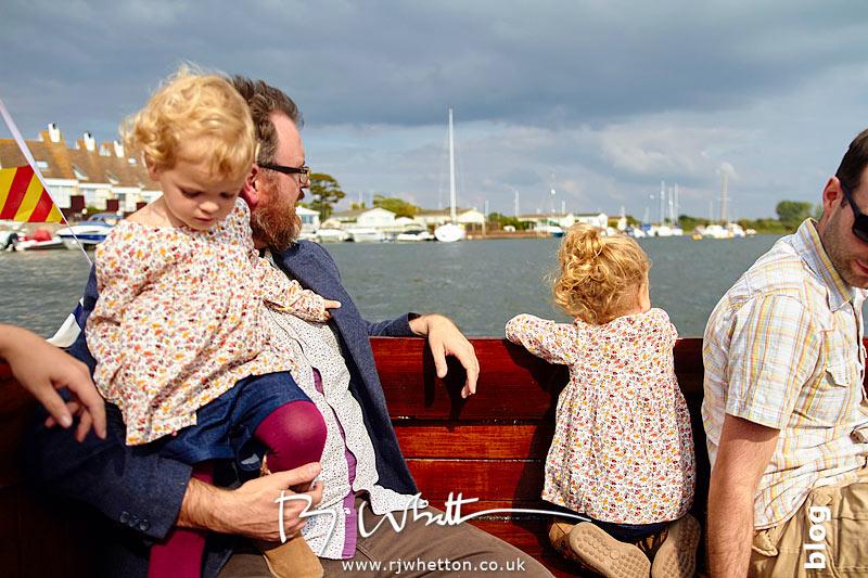 Heading out of Christchurch harbour - Portrait Photography Dorset