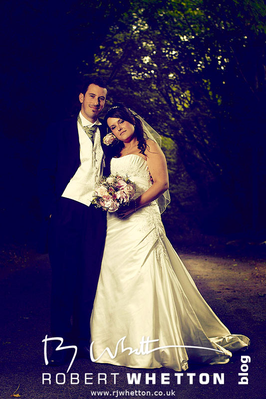 Beautiful portrait of Jo and Ben - Dorset Wedding Photographer Robert Whetton
