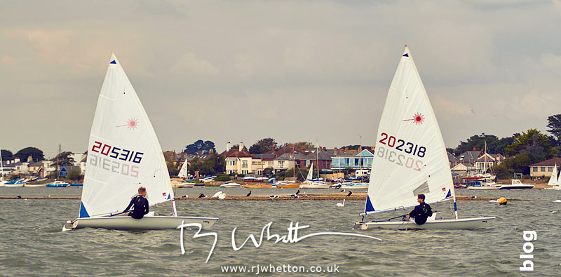 Speeding sail boats- Portrait Photography Dorset