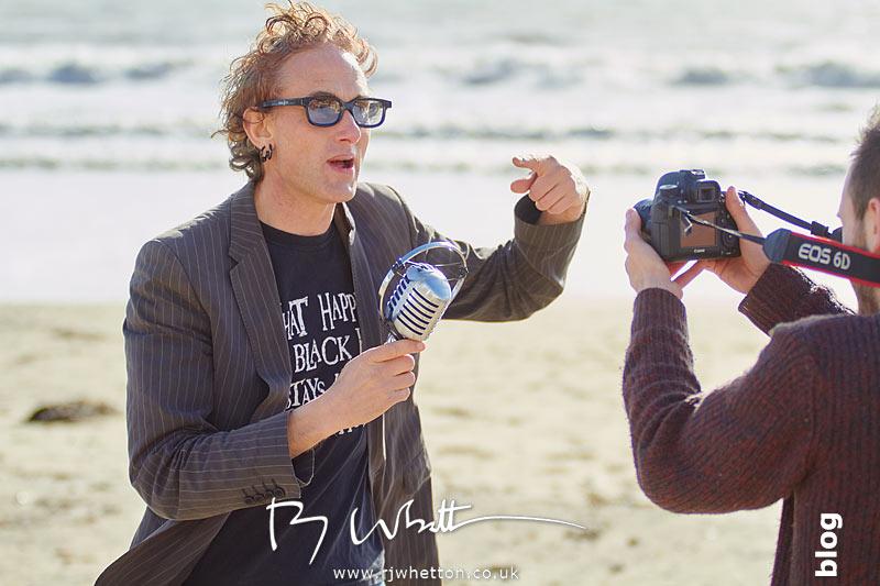 Si Genaro, Behind the scenes filming Chicken Train