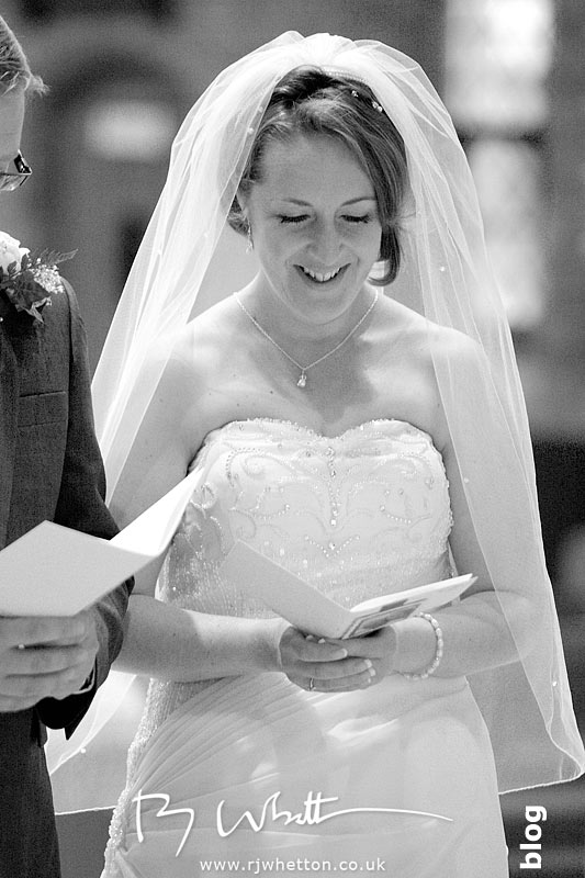 Happy bride - Professional Wedding Photography Dorset