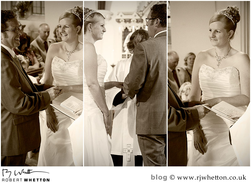 Exchange rings - Dorset Wedding Photographer Robert Whetton
