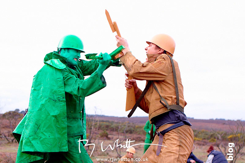 Hand to hand combat - Production Photography Dorset