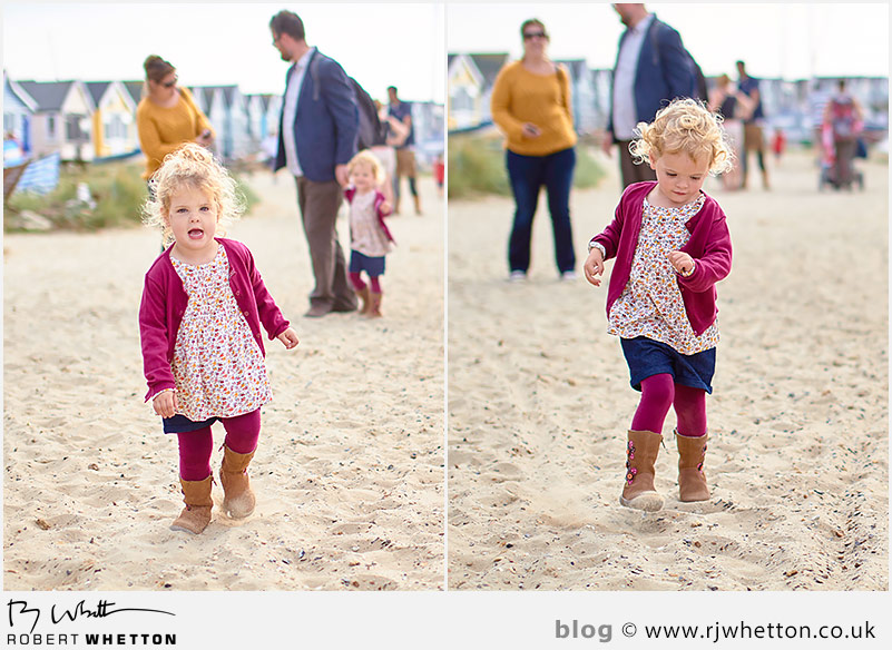 Scout and Harper make their way to the ice cream shop - Portrait Photography Dorset