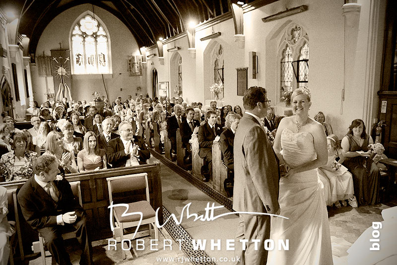 Congratulations Mr and Mrs Steele - Dorset Wedding Photographer Robert Whetton