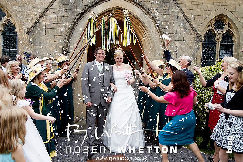 Confetti - Dorset Wedding Photographer Robert Whetton