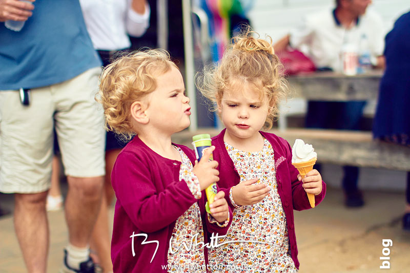 Harper gets a Lime Icicle and Scout gets a Mr Whippy - Portrait Photography Dorset