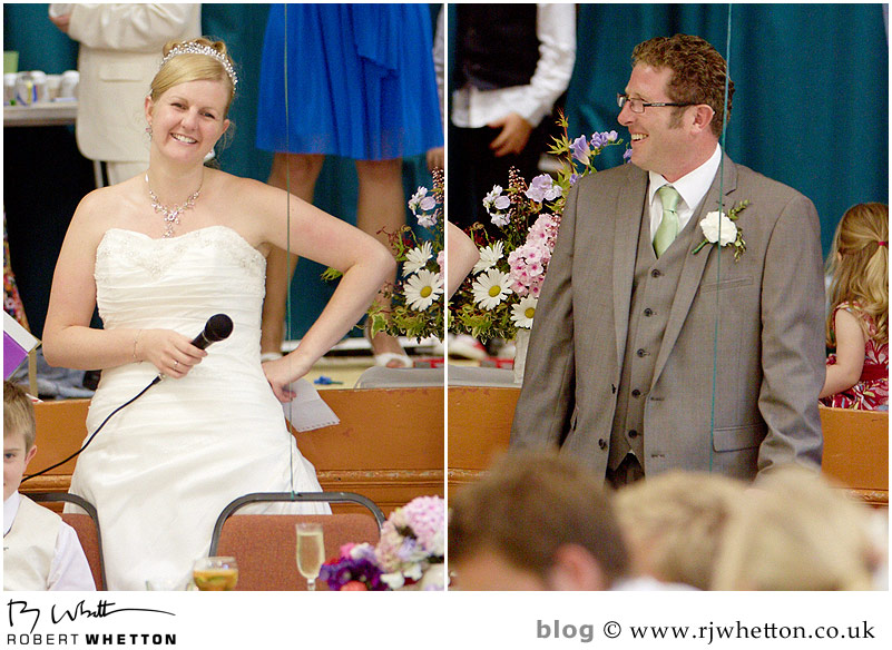 Speech - Dorset Wedding Photographer Robert Whetton
