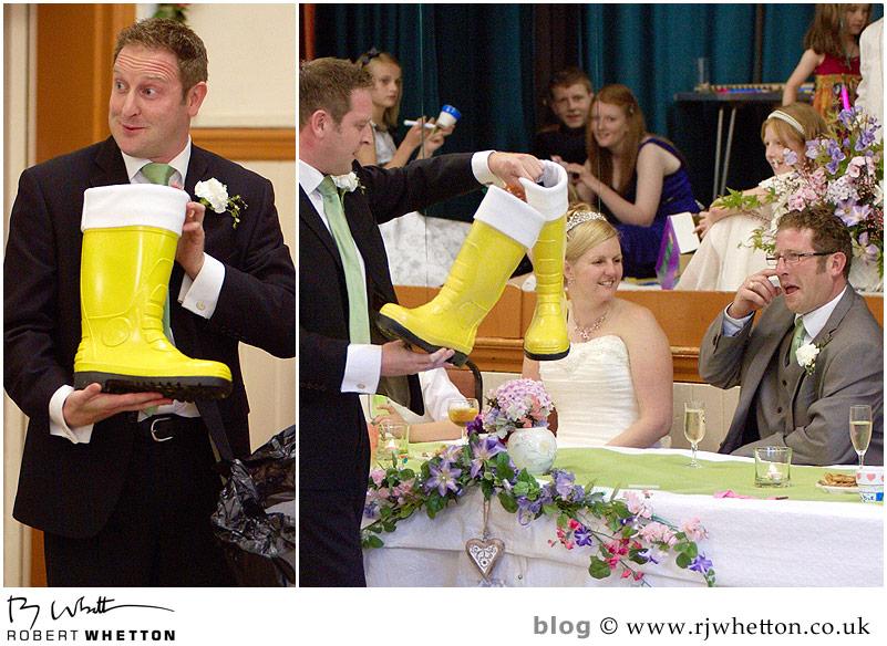 Speech - Dorset Wedding Photographer Robert Whetton
