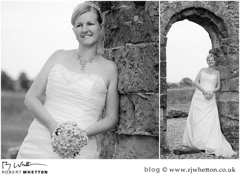 Knowlton Church Portrait of Leah - Dorset Wedding Photographer Robert Whetton