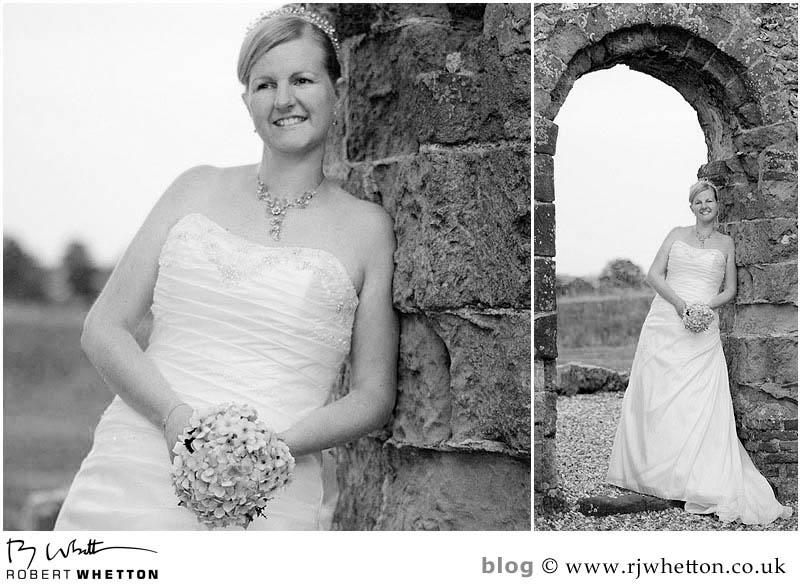 Knowlton Church Portrait of Leah - Dorset Wedding Photographer Robert Whetton