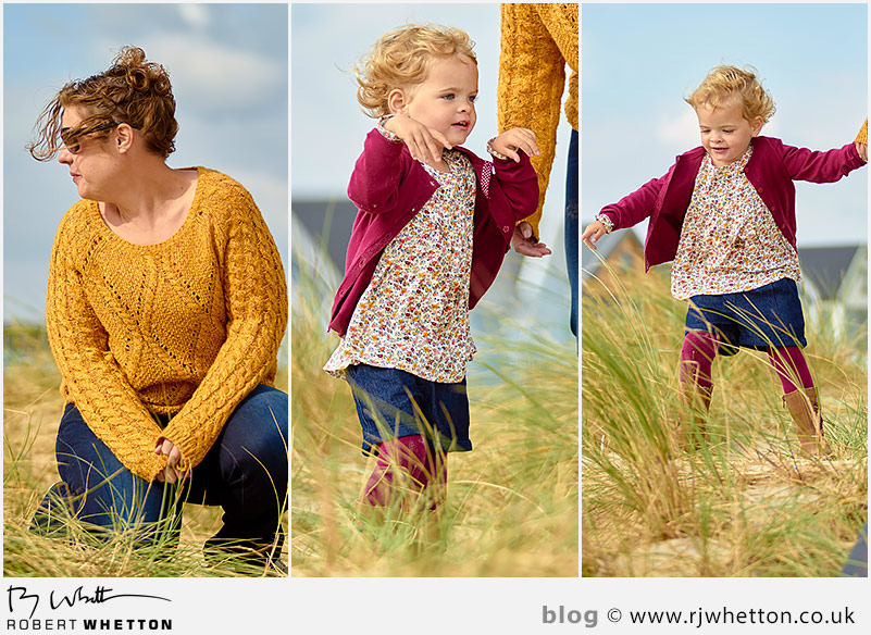 Lou and Harper at Hegistbury Head - Portrait Photography Dorset