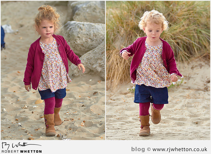 Full length shots of Scout and Harper - Portrait Photography Dorset