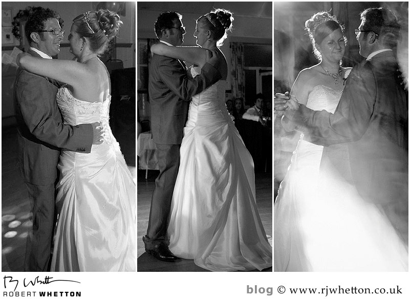 First dance - Dorset Wedding Photographer Robert Whetton