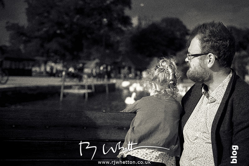 Scout and Dom look out at the harbour - Portrait Photography Dorset
