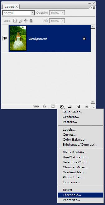 Create New Threshold Layer